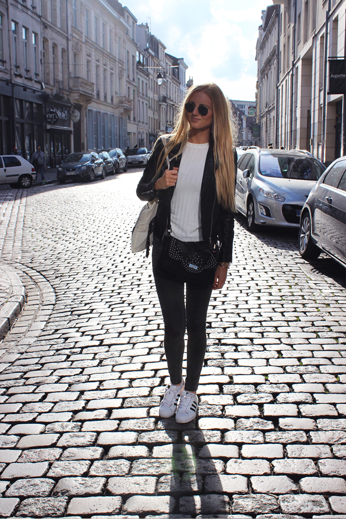 Superstar perfecto Zara look