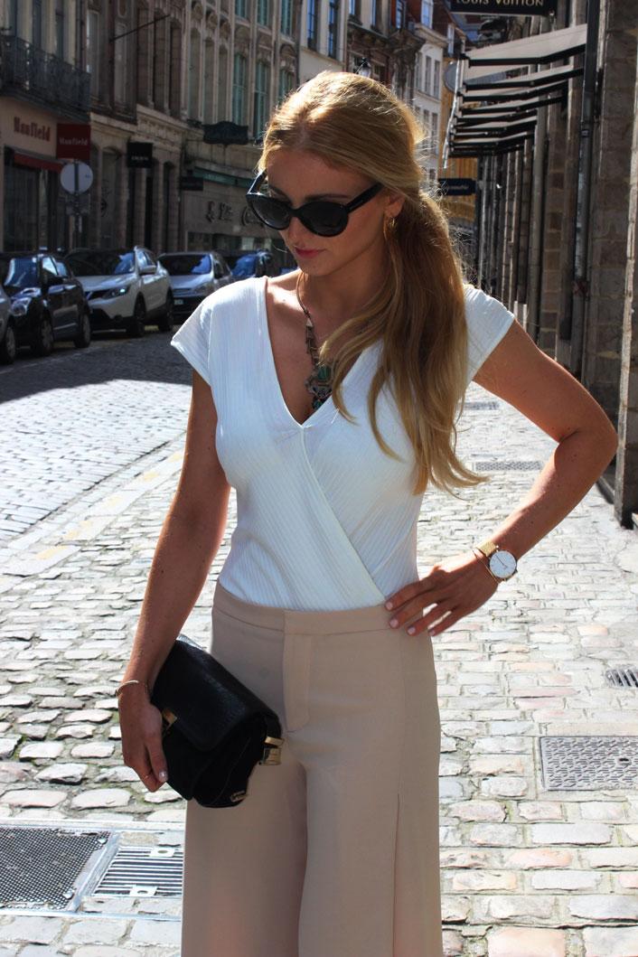 Pantalon large Zara blog mode Jess me up