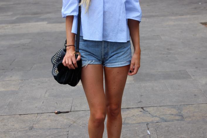 Short vintage Levi's tenue
