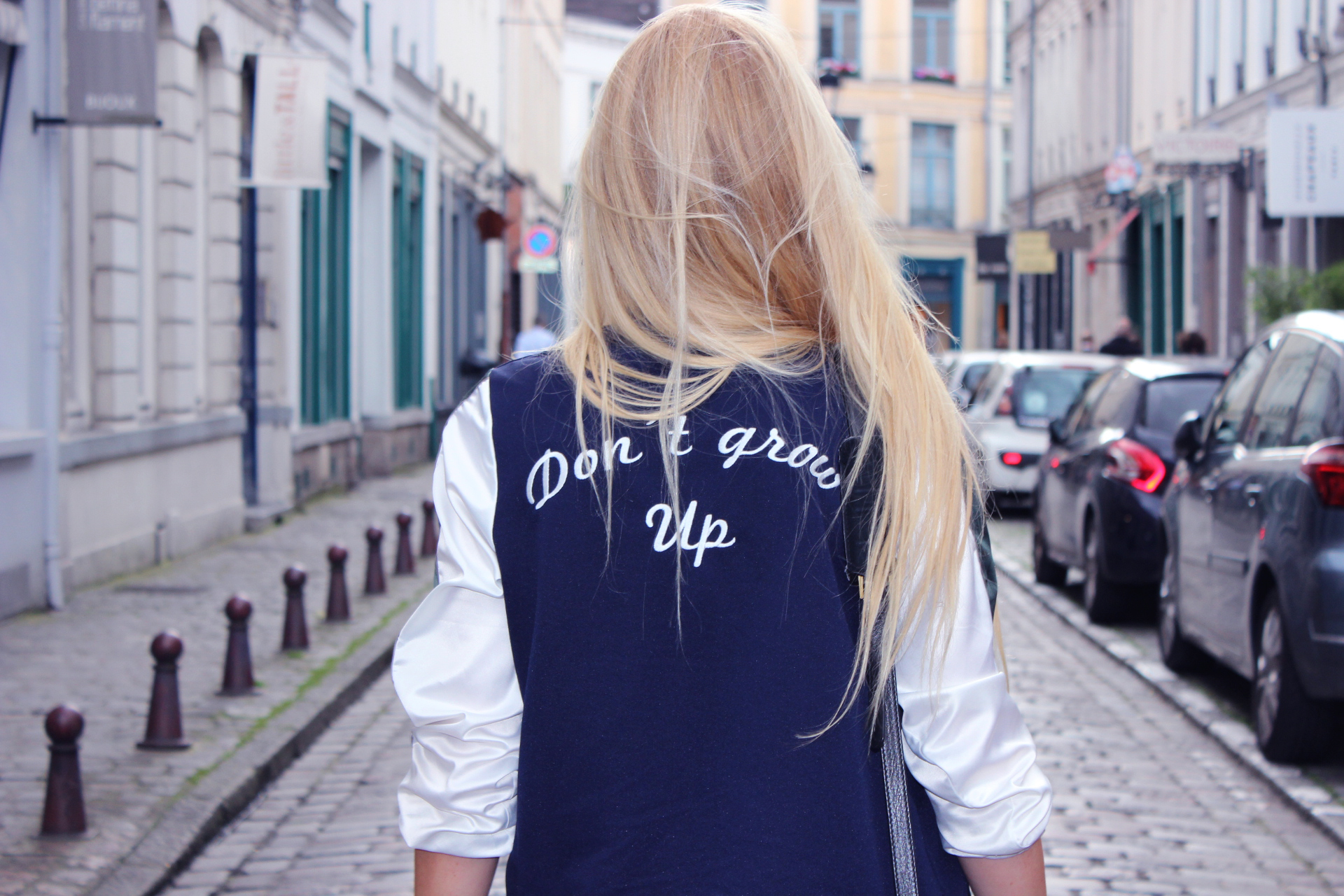 Jess Me Up blog Lille tenue bomber Zara Don't grow up