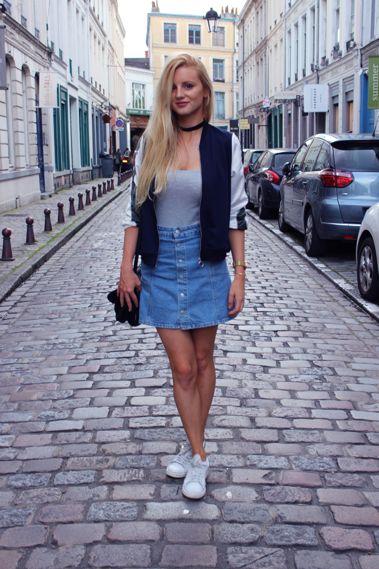 Jess Me Up blog Lille tenue Zara bomber
