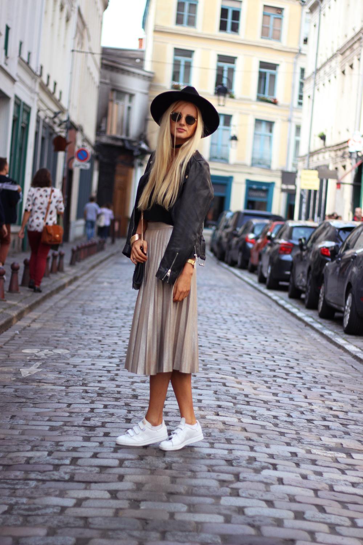 Blog mode France jupe dorée Zara
