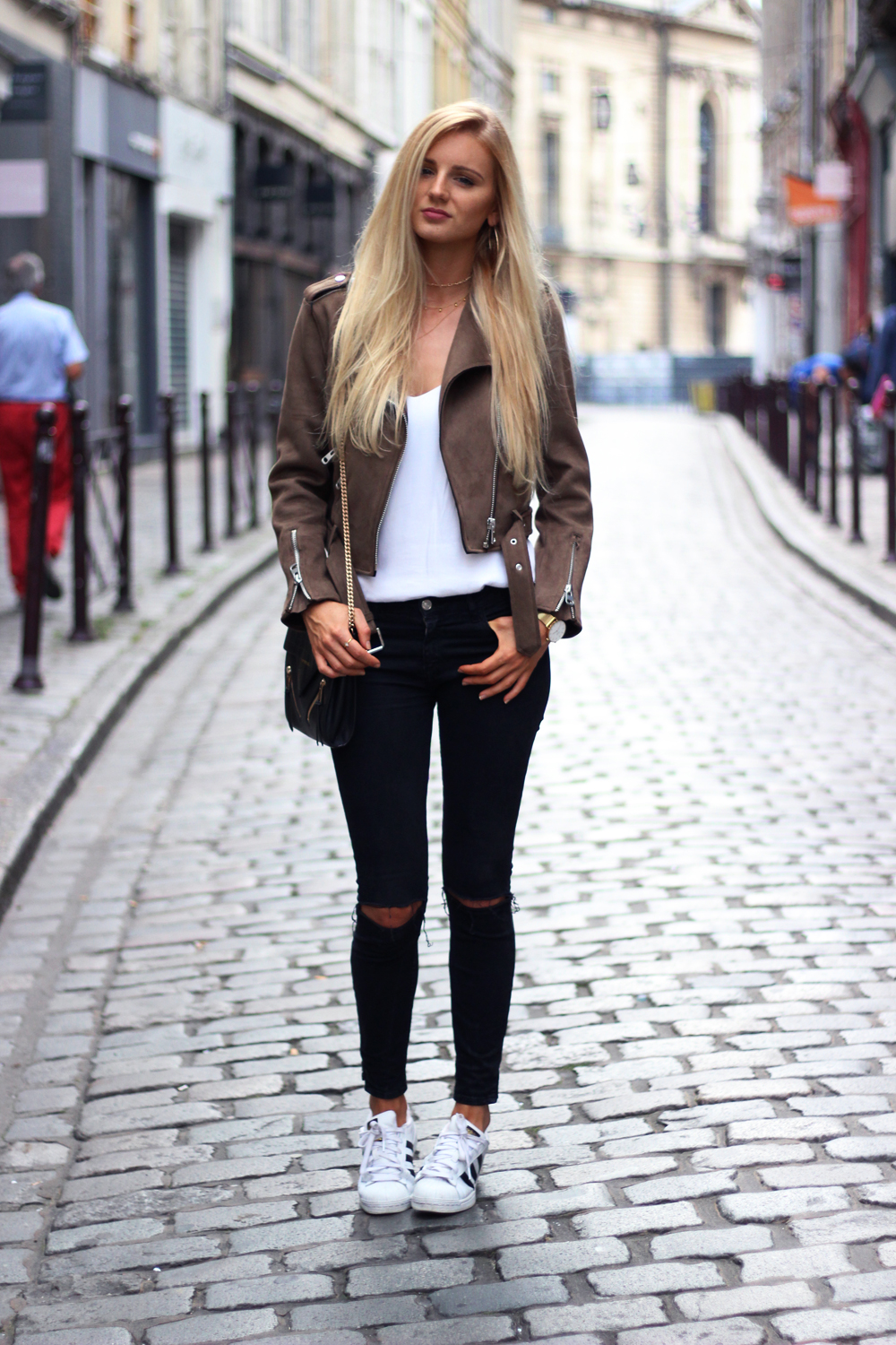 Perfecto Zara kaki Jess Me Up blog mode Lille