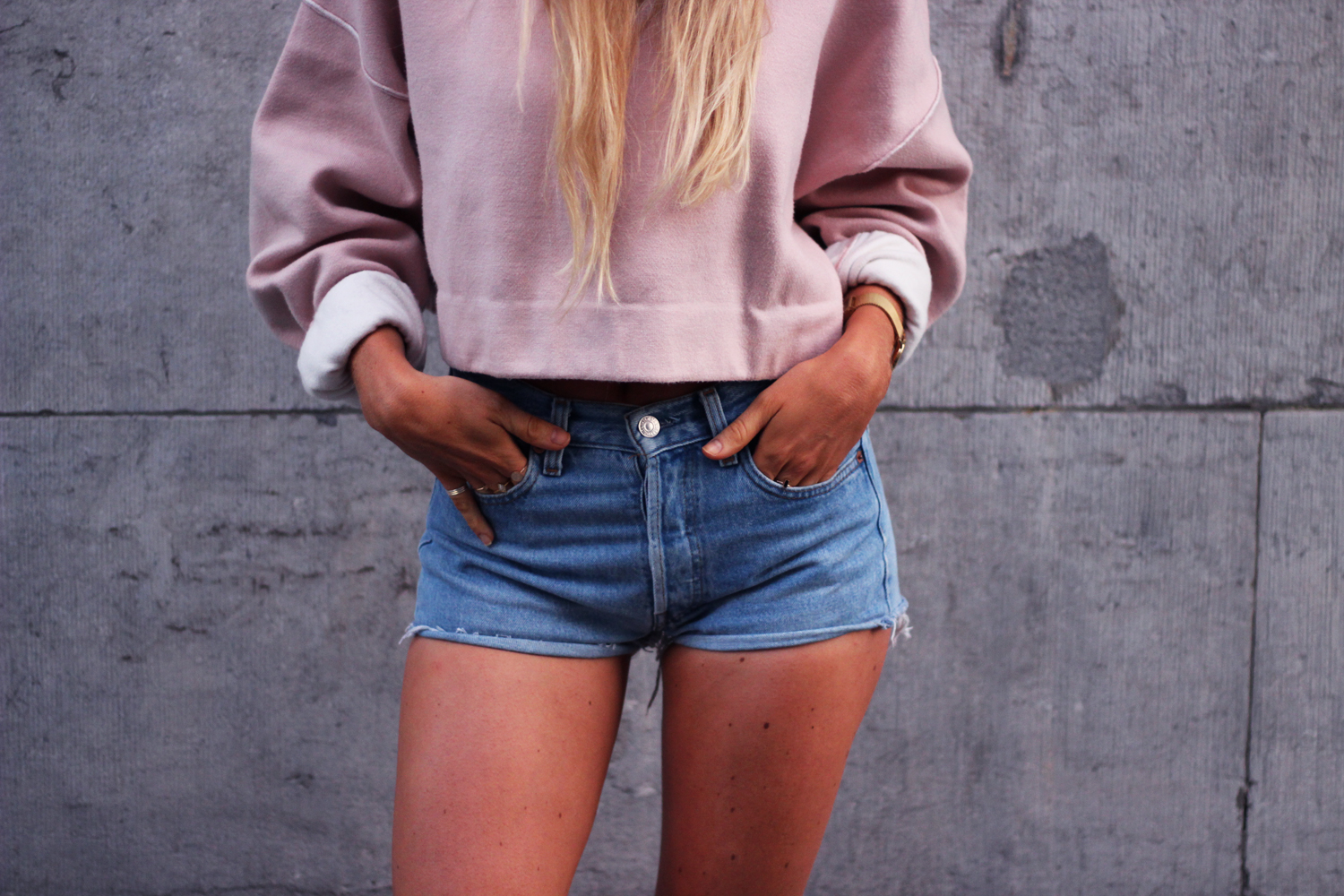 Pink hoodie sweat rose Zara blog mode Jess Me Up