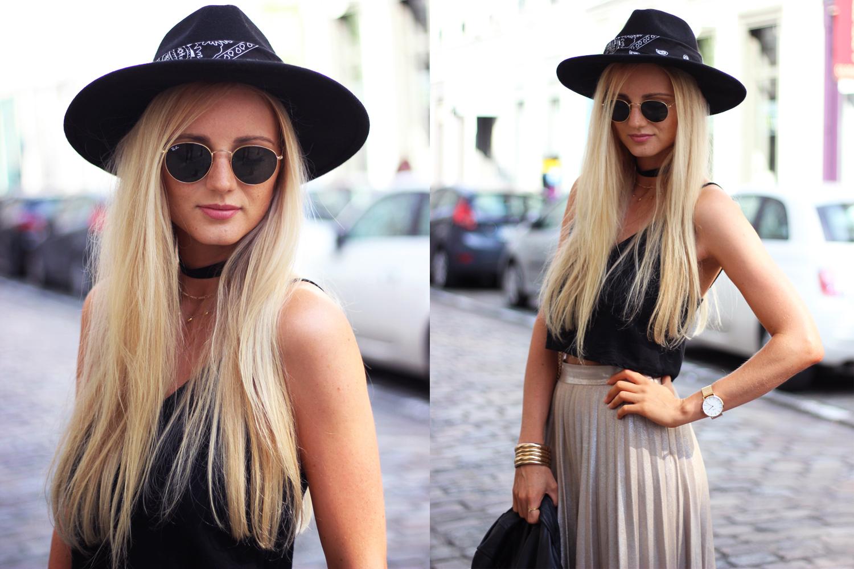 Blog mode chapeau hat Zara tenue tendance