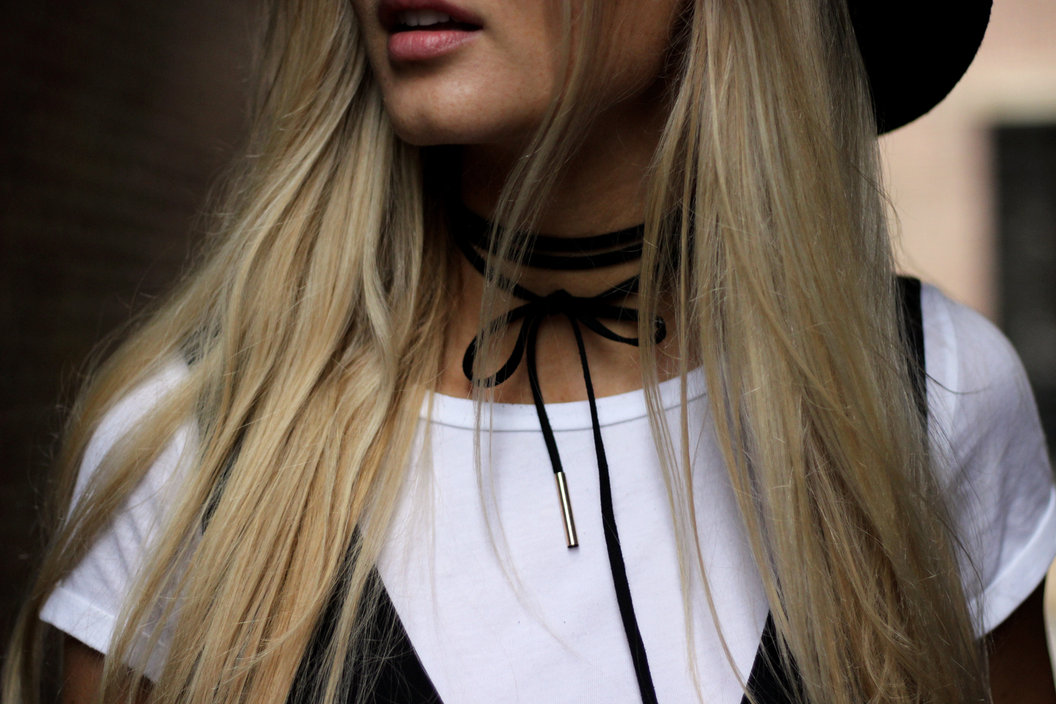 Look blog mode H&M Zara choker Asos Jess Me Up Lille