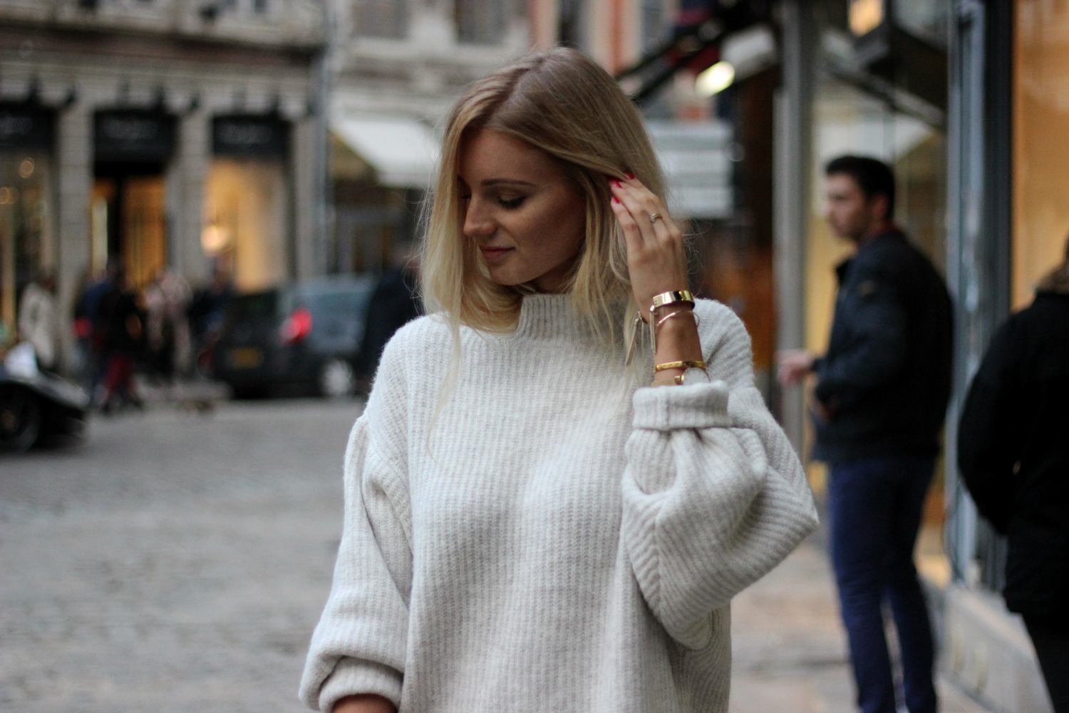 Comment porter la robe pull Zara blog mode Lille