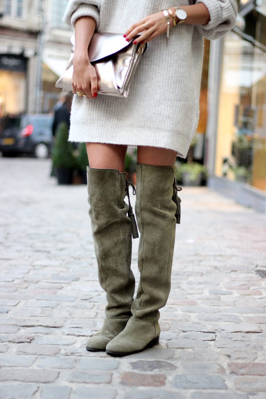 Robe pull comment porter les cuissardes Asos blog mode