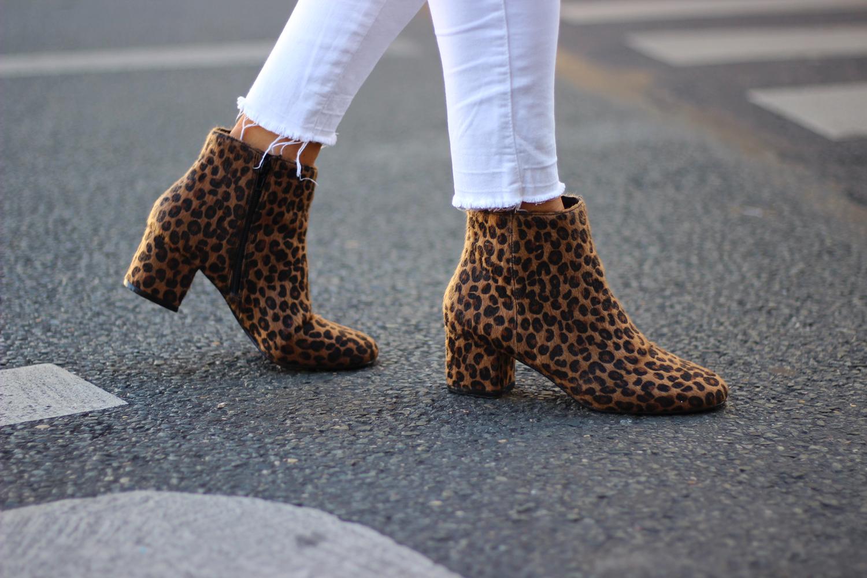 Chaussures bottines Pimkie leopard boots mode blog tendance
