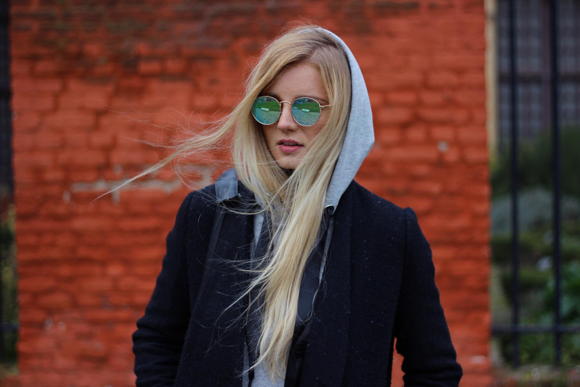 Blog mode manteau Asos lunettes Zara Stradivarius