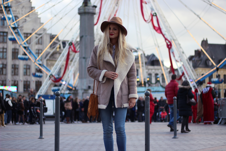 Blog mode Lille tendance look manteau Zara sac Maje M