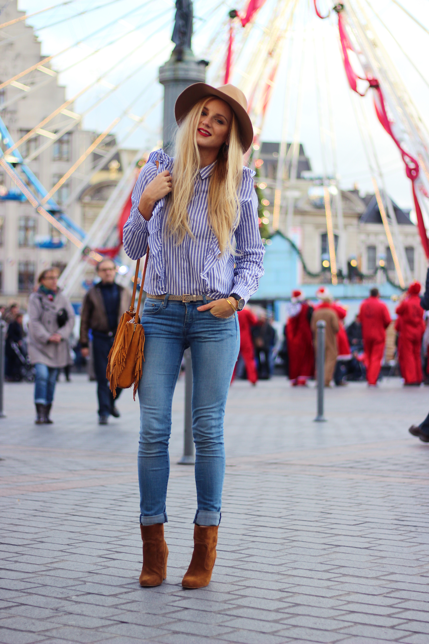 Blog mode Lille blouse volants Bershka
