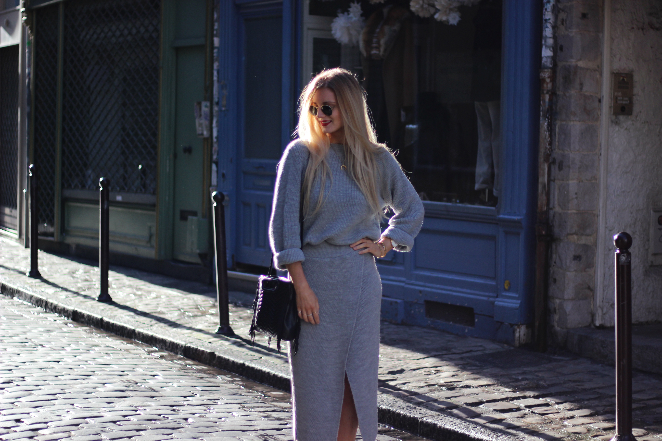 Blog mode Lille Asos maille look tendance sac Maje M