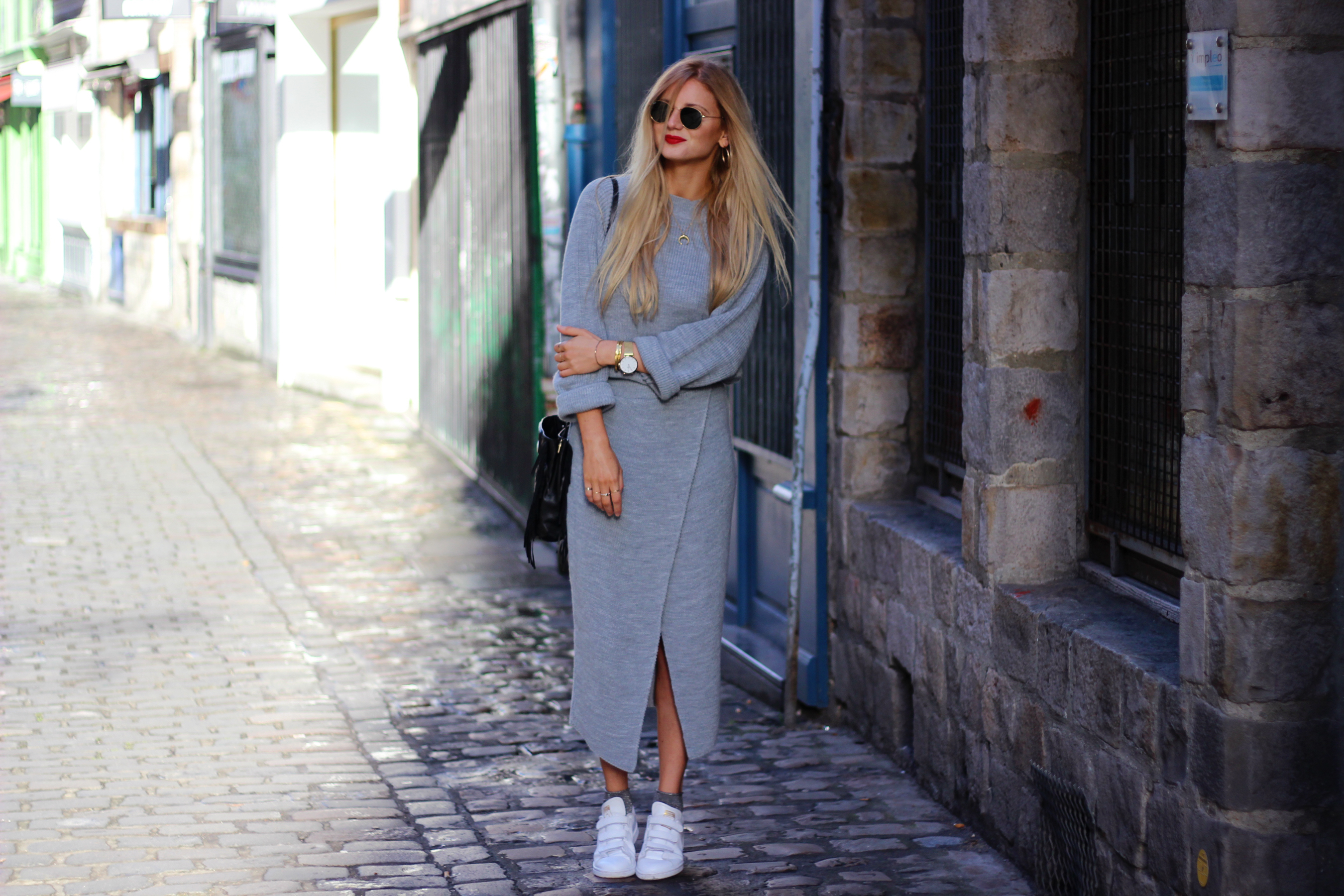 Blog mode Lille look Asos pull jupe